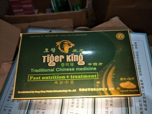 China Sex-Pillen-Kraut-Penis-Aufrichtungs-Verbesserung Tiger-König-Male Performance Drugs Natural distributeur